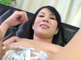 Messy ass-licking wench gets pussy hammered, cum shot